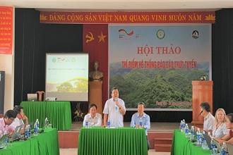 Hội thảo thí điểm hệ thống báo cáo trực tuyến tại Vườn Quốc gia Phong Nha – Kẻ Bàng
